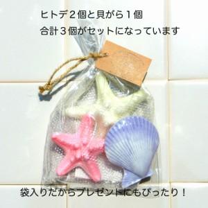 プレゼント にも! 貝殻 のデザインがキュートな 石けん リィリィ シェル ソープ ギフト プレゼント