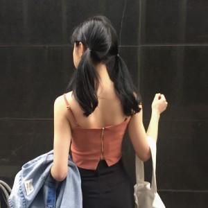 キャミソール スリム 無地 ショート丈 トップス インナー 春夏