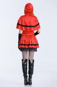 M〜3L★4set赤ずきんハロウィン仮装大きいサイズコスプレ キャラクター メルヘン マッチ売りの少女 衣装コスチューム