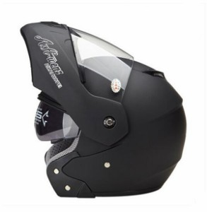 システムヘルメット フリップアップヘルメット バイクヘルメット PSC規格品 フルフェイスヘルメット ダブルシールド AK-909