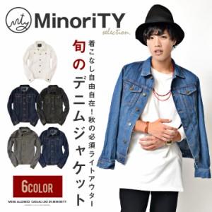 MinoriTY SELECT マイノリティセレクト 6カラーデニムジャケット