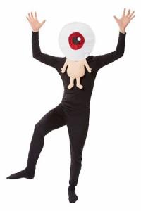 目玉のおやじ コスプレ コスチューム ゲゲゲの鬼太郎 公式 目玉おやじかぶりコスチューム 仮装 ハロウィン 妖怪