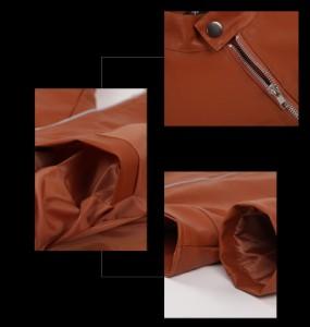 送料無料 レザージャケット バイクジャケット メンズ ライダースコート メンズファッション 革ジャン PUレザー フェイクレザー 秋冬