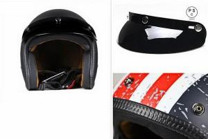 バイクヘルメット バイク用 ヘルメット ジェット 3/4ヘルメット 半帽 レトロなハーレーヘルメット PSC付き【送料無料】BYE-011