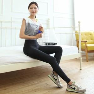 hp37【送料無料】レディース スポーツウェア フィットネス ロングパンツ ワークアウト タイトパンツ ワンカラー 韓国ファッション