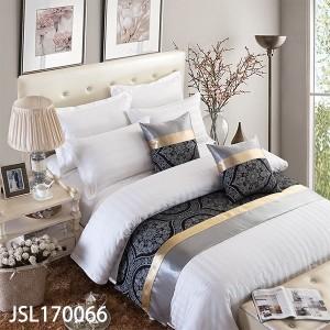 ベッドクッション ホテルクッション 50cm×50cm 海外直輸入高級ホテルベッドデザイナー海外五つ星ホテル bed-0411