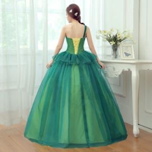 カラードレス ウェディングドレスパーティードレス 花嫁ドレス イブニングドレス  ロングドレス 結婚式ワンピース 披露宴 忘年会