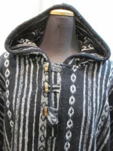 秋冬ゲレコットンエスニックポンチョエスニックアウターエスニック衣料エスニックアジアンファッション