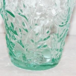 【キッチン雑貨】 翌日出荷 シェル柄グラス Sea greenマリン雑貨 ナチュラル コップ ガラス パイナップル