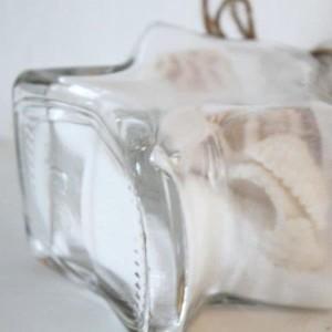 【マリン雑貨】 翌日出荷 スターシェルポット リゾート雑貨 ナチュラル ポット ヒトデ ガラス インテリア 星型