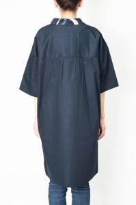 和テイスト-和柄婦人チュニック 0184-435 日本製
