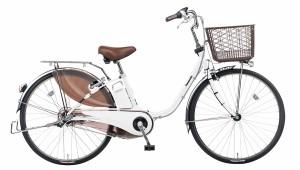 配送先関東限定 電動自転車 パナソニック Panasonic ビビ・DX KE-ELD433 F2 24インチ ホワイト 白 電動アシスト自転車 送料無料