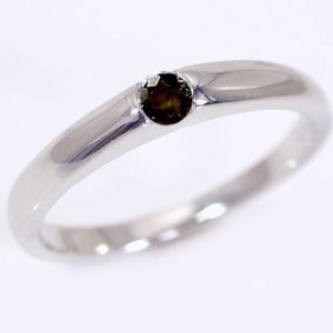 ダイヤモンド ブラックダイヤ ホワイトゴールド 結婚指輪 マリッジリング ペアリング ペア 2本セット K10wg 指輪 ダイヤ 0.1ct
