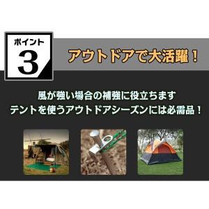 テント ペグ 釘 杭 20cm 4本セット キャンプ用品 ペグセット スチール テント タープ 設営用品 アウトドア 固定 ad097