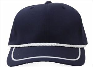 【送料無料★1,000円】ウェザーロープ付きゴルフキャップ☆ネイビー