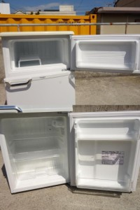 K▲モリタ 冷蔵庫 88L 2010年 2ドア コンパクト 一人暮らし MR-D09BB (06372)