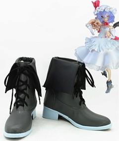 Gargamel コスプレ靴 東方project レミリア スカーレット Remilia Scarlet コスプレブーツ オーダーサイズ製作可能m2266