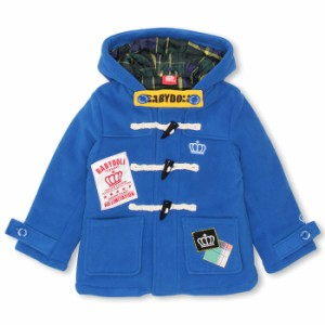 【廃棄】SALE50%OFF アウトレット フリースダッフルコート ベビーサイズ キッズ アウター ベビードール 子供服-8372K