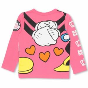 週末限定SALE60%OFF ディズニー ナイショ話ロンT-ベビーサイズ キッズ ベビードール 子供服/DISNEY-9452K
