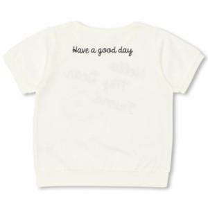 SS_SALE50%OFF PINKHUNT チュール重ね Tシャツ-キッズ ジュニア ガールズ ベビードール 子供服-9257K