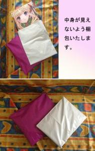 【送料無料】【激安】超人気等身抱き枕カバー♪東方Project フランドールxレミリア両面プリント 日本製ポリエステル