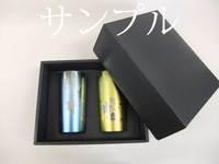 [3日(営業日)発送]純チタンタンブラー プレミアム ペア ビアカップ 桜花&扇子