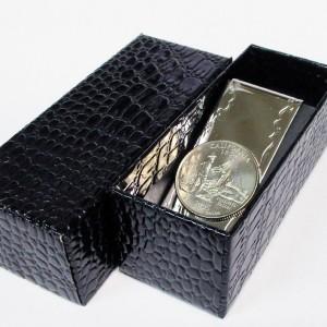 【送込】 マネークリップ プレミアム コイン カリフォルニア 日本製
