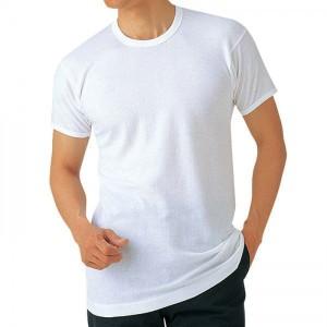★送料無料★【綿100%&抗菌防臭】半袖丸首シャツ6枚セット KBHM6