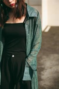 ロングゆるシャツ XTAL0397