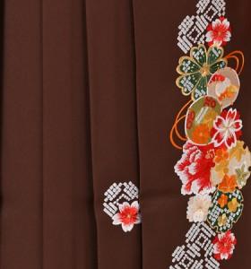 往復送料無料 全部揃って安心 大学 高校 小学生  2泊3日 卒業式袴 レンタル セット クリーム色地 No.055-0094
