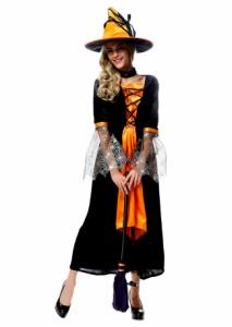 ハロウィン衣装 コスプレ仮装 コスチューム 魔女 巫女 変装 仮装 大人用 学園祭 パーティー服 レディース仮装 忘年会衣装 ダンス