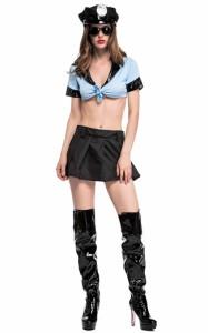 ハロウィン コスチューム コスプレ cosplay 警察 刑事 女性用 レディース 変装 仮装 大人用 学園祭 パーティー服 イベント用 セクシー