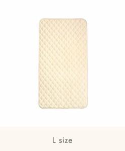 ファルスカ コンパクトベッド用 敷きパッド L オーガニックWガーゼ 洗い替え 洗える キルティング ねんね ベビー ギフト