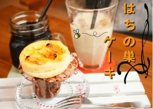 honobonoスイート♪はちのすケーキ 【冷凍発送】