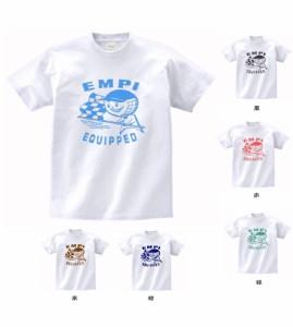車・バイク Tシャツ EMPI  白 MLサイズ