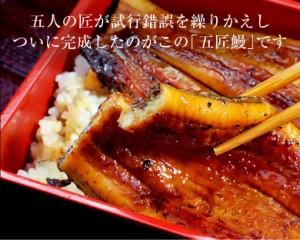 《送料無料》鹿児島産 うなぎ蒲焼 「五匠鰻」約120g×10尾 ※冷凍 ☆