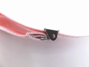 伸縮腰紐(こしひも)ウエストベルトピンク市松 和装着物振袖着付け小物 日本製