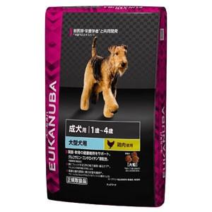 【ユーカヌバ】健康維持用 大型犬種 大粒(7.5kg)[メンテナンス/1歳〜4歳/ドッグフード/ユカヌバ]