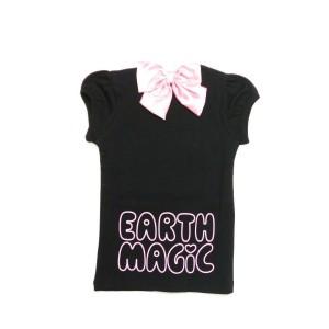 EARTHMAGIC アースマジック 子供服 17初秋 ロゴ半袖Tシャツ ea37341101