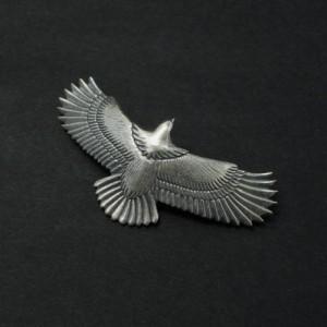 イーグルペンダント 中 鷲ペンダント メンズペンダント ペンダント イーグル ハンドメイド Silver925 日本製<J.T.S>