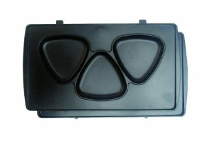 Vegetable マルチサンドメーカー 着脱式 5枚組プレート付き GD-SM5