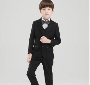 新品 高品質 チェック柄 子供スーツ フォーマル 男の子キッズスーツ 5点セット 入学式卒業スーツ 七五三 ピアノ 発表会 結婚式