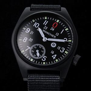 機械式手巻き 軍用時計 / ミリタリーウォッチ WANCHER / ワンチャー 「Gurkha2 / グルカ2」 PVD