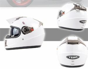 フルフェイス ヘルメット バイク用 ダブルシールド 斬新的なデザイン シールド開閉可能 サングラス 多色 PSC付き【送料無料】YEMA-828