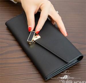財布 長財布本革 レディース 送料無料 三つ折りウォレット財布/小銭入れ付き 人気 可愛い 大容量プレゼント女性用