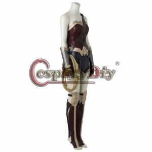 高品質 高級コスプレ衣装 ワンダーウーマン 風 オーダメイド Dawn of Justice League Wonder Woman Diana Prince Cosplay