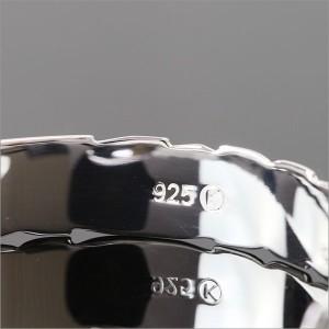 刻印 送料無料 ハワイアンジュエリー バングル レディース メンズ バングル ブレスレット シルバー925 シンプル 男女兼用 B5003-10