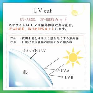 【ゆうパケット・定形外発送OK】ネオサイト14UV(6枚入)/2週間交換用/UVカット/うるおい成分配合/処方箋不要