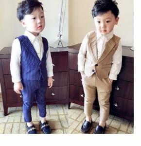 格好いい男の子2点セットスーツ/キッズスーツ/子供服/男の子セットアップ/