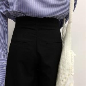 無地 モノトーン きれいめカジュアル ミモレ丈 プリーツ スカート